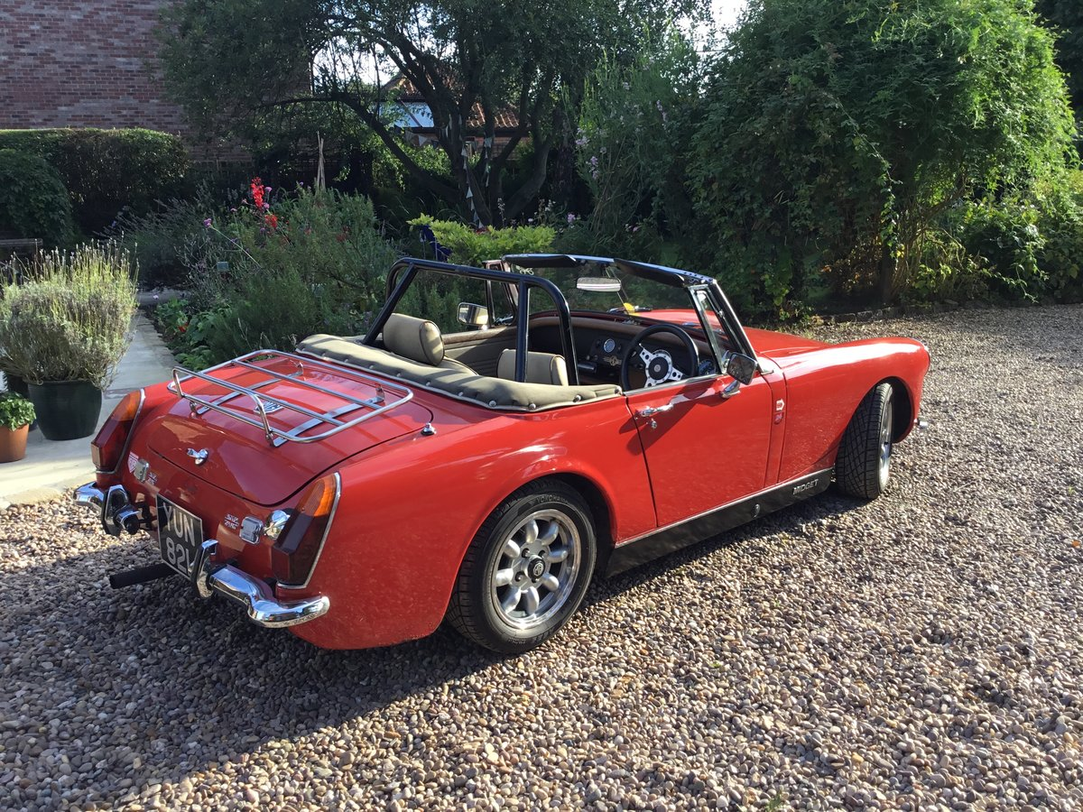 1972 MG Midget. Fast road spec SOLD (picture 2 of 6)