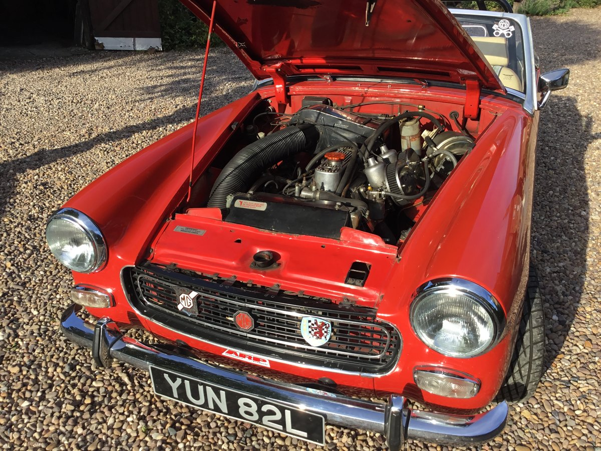 1972 MG Midget. Fast road spec SOLD (picture 5 of 6)