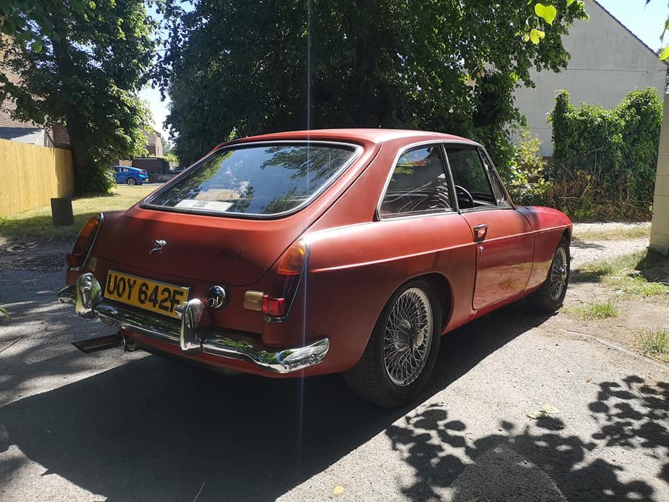 1968 MG C GT 44k miles, very solid runner for finishing SOLD (picture 3 of 6)
