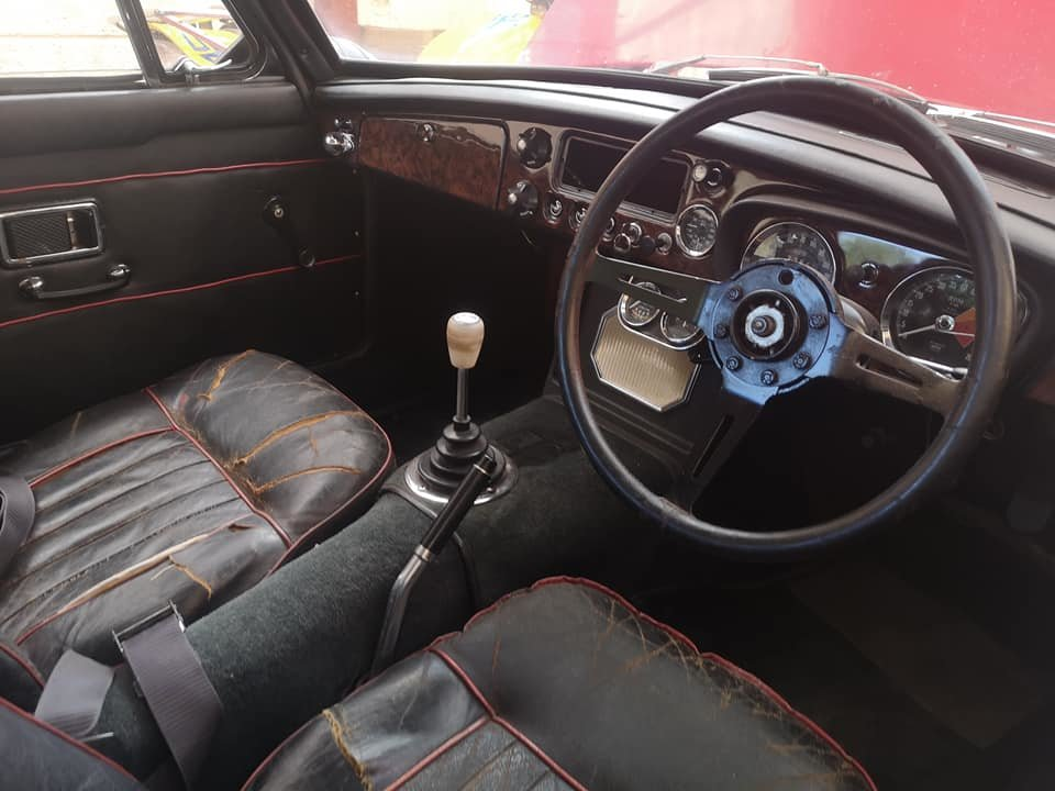 1968 MG C GT 44k miles, very solid runner for finishing SOLD (picture 6 of 6)