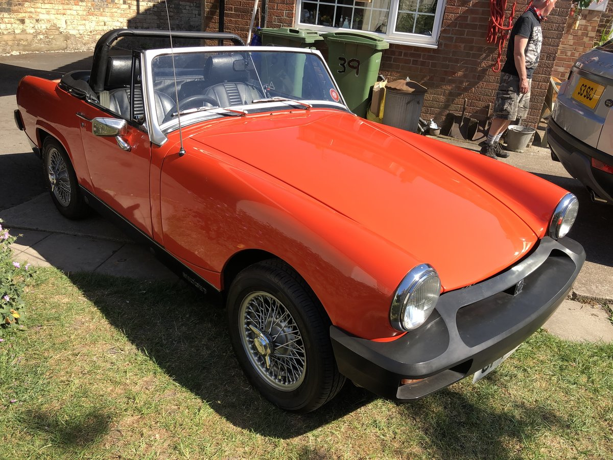 1980 Mg Midget Tax Free For Sale (picture 1 of 6)