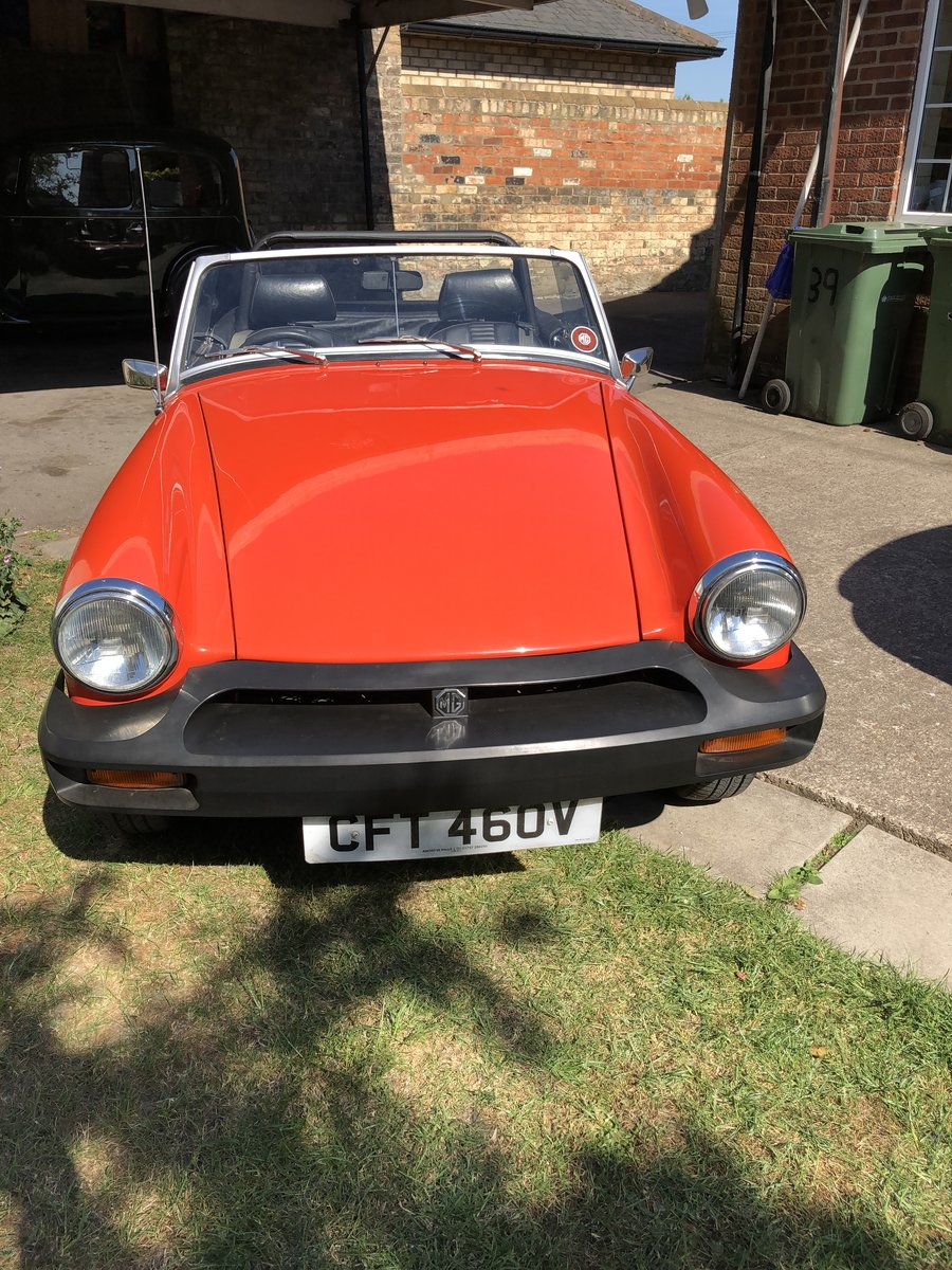 1980 Mg Midget Tax Free For Sale (picture 2 of 6)