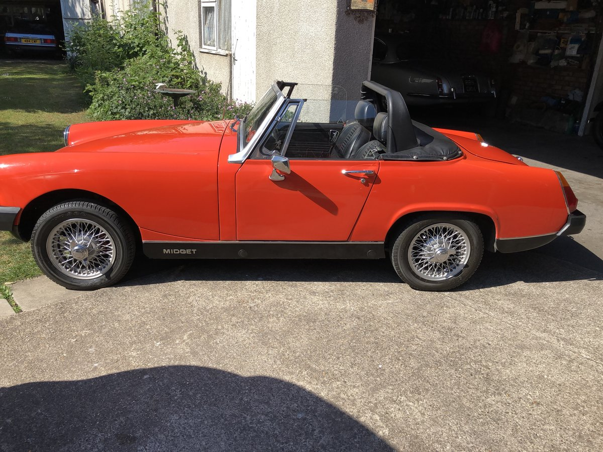 1980 Mg Midget Tax Free For Sale (picture 6 of 6)