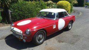 1965 MGB FIA Race car - Sebring replica