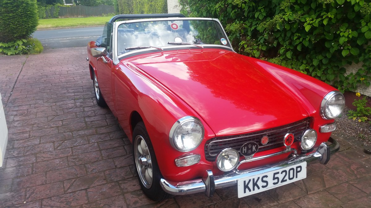 1977 Stunning Looking MG Midget 1500 SOLD (picture 6 of 6)