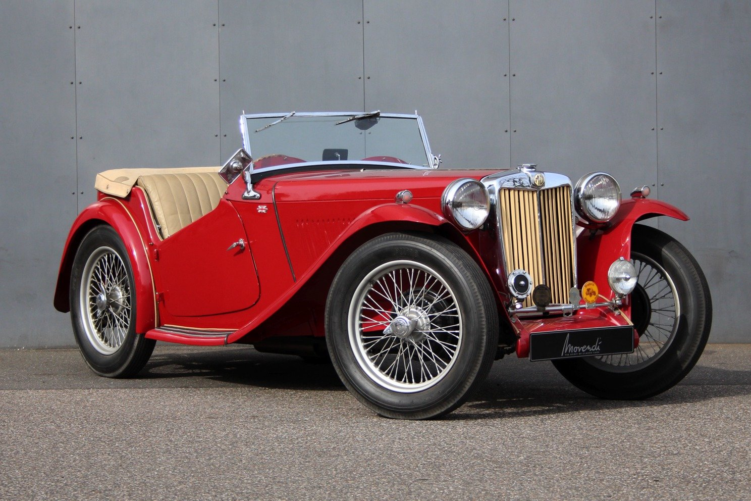 1948 MG TC RHD For Sale (picture 1 of 6)