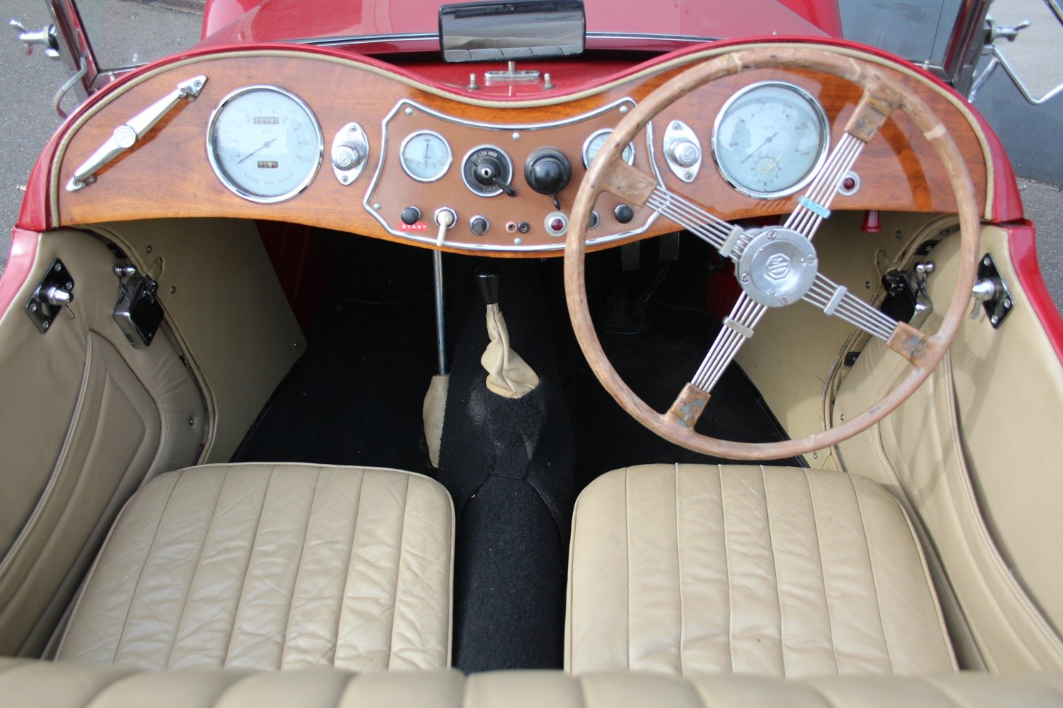 1948 MG TC RHD For Sale (picture 3 of 6)