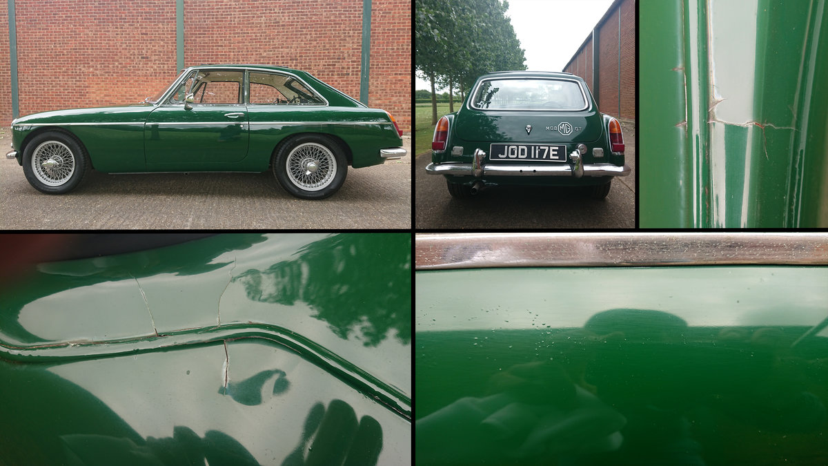 1967 MG B GT Beautiful Classic with history For Sale (picture 6 of 6)