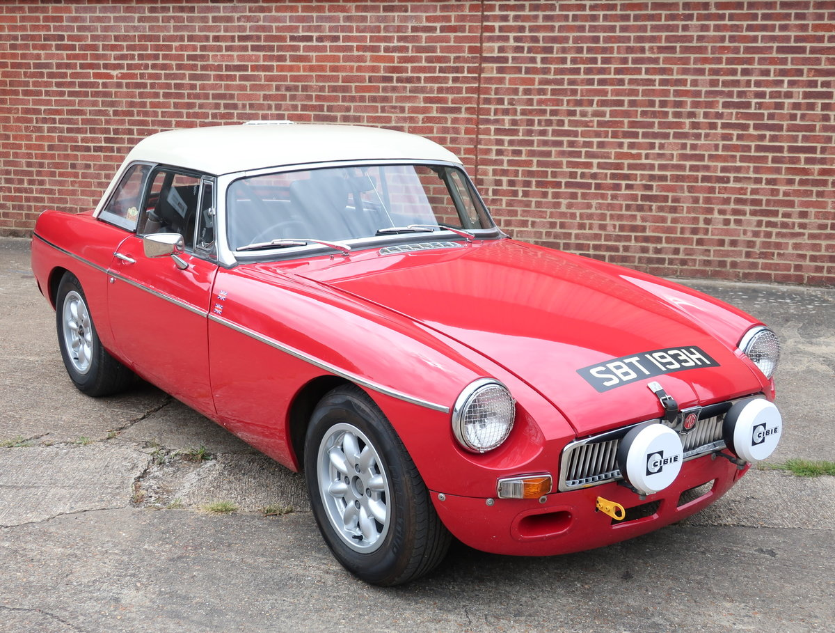1969 MG B Roadster Historic Rally Car For Sale (picture 1 of 6)