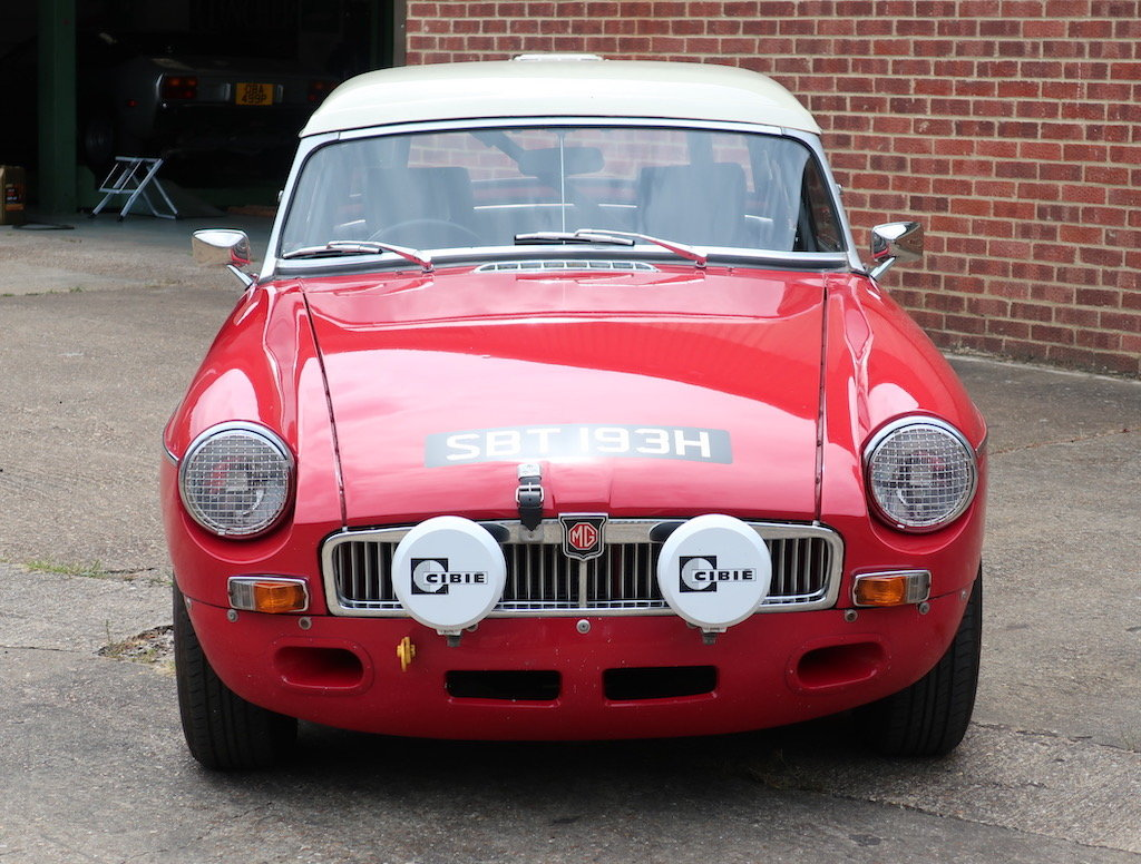 1969 MG B Roadster Historic Rally Car For Sale (picture 6 of 6)
