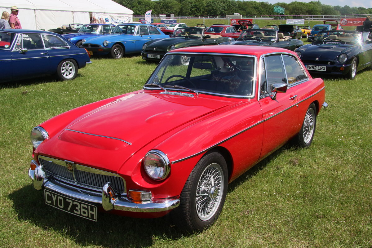 1969 Immaculate MGC GT - one of the best Available For Sale (picture 1 of 6)