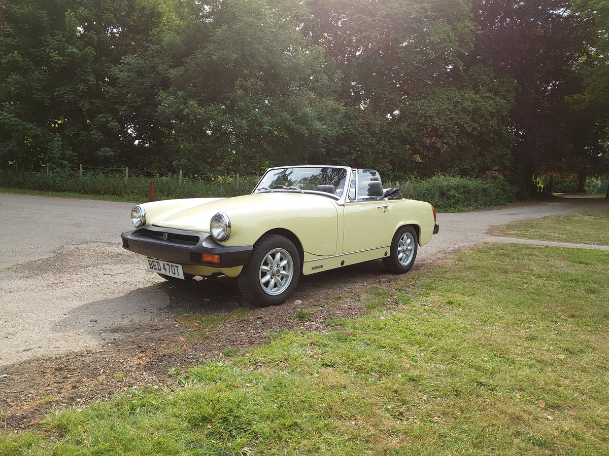 1979 MG MIdget 1500 **Now Sold** SOLD (picture 1 of 6)