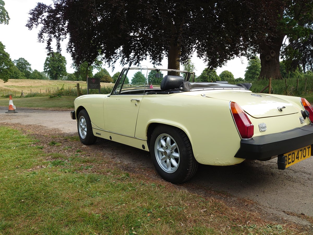 1979 MG MIdget 1500 **Now Sold** SOLD (picture 2 of 6)