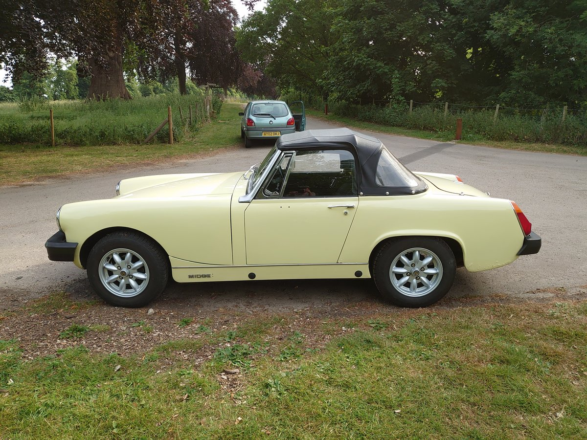 1979 MG MIdget 1500 **Now Sold** SOLD (picture 4 of 6)