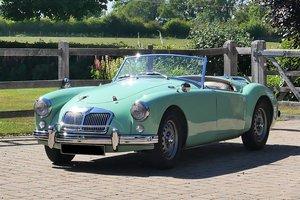 1958 MGA Fully documented restoration.