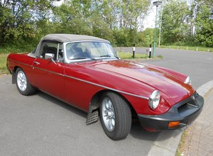 1975 MGB Roadster with comprehensive provenance For Sale