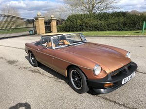 1981 MGB Roadster LE - Good Condition