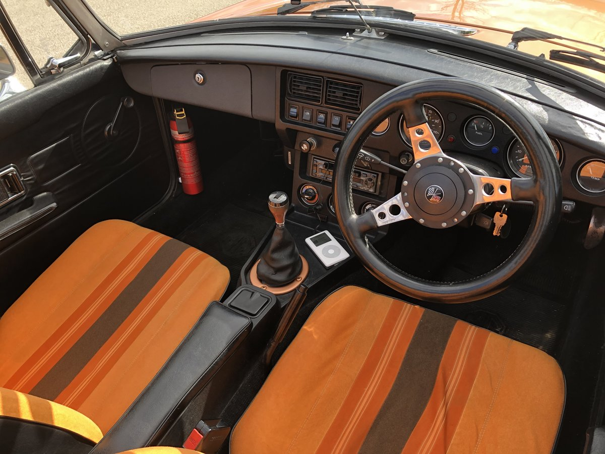 1981 MGB Roadster LE - Good Condition For Sale (picture 3 of 6)