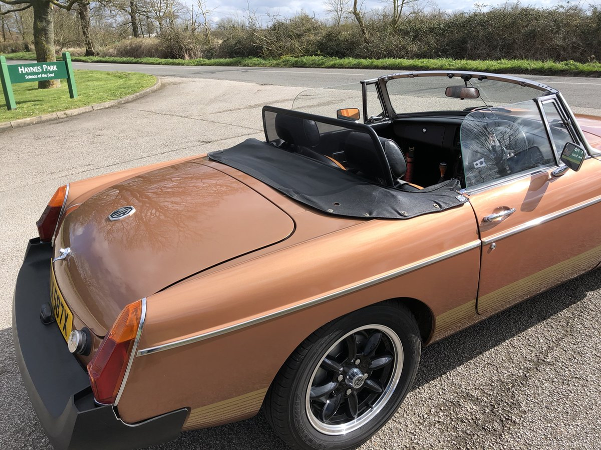 1981 MGB Roadster LE - Good Condition For Sale (picture 4 of 6)