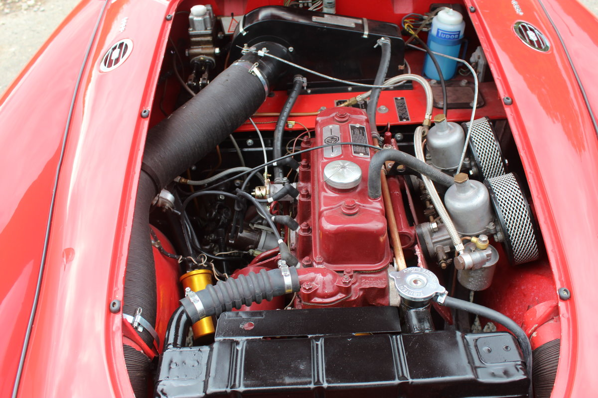 1959 MGA 1600 Roadster , Original RHD UK Car , Beautiful  SOLD (picture 5 of 6)