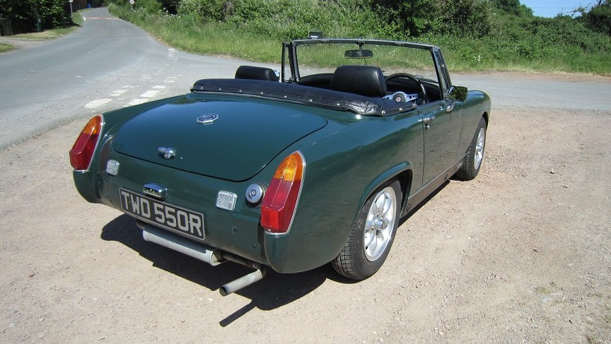 1977 Mg midget  SOLD (picture 2 of 6)