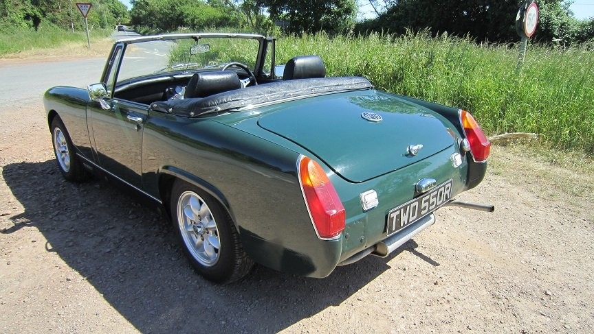 1977 Mg midget  SOLD (picture 3 of 6)
