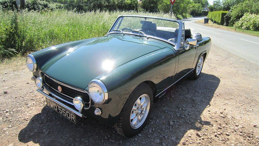 1977 Mg midget  SOLD (picture 4 of 6)