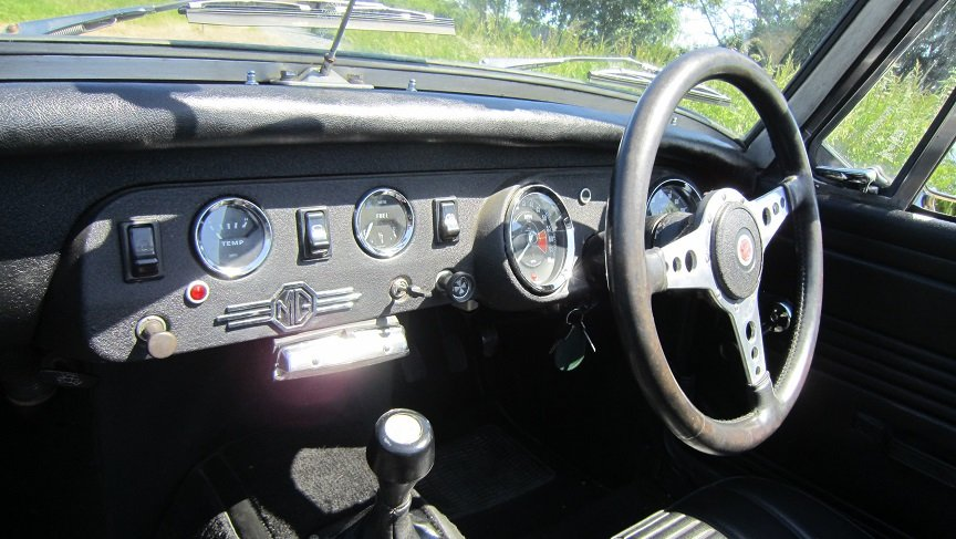 1977 Mg midget  SOLD (picture 5 of 6)