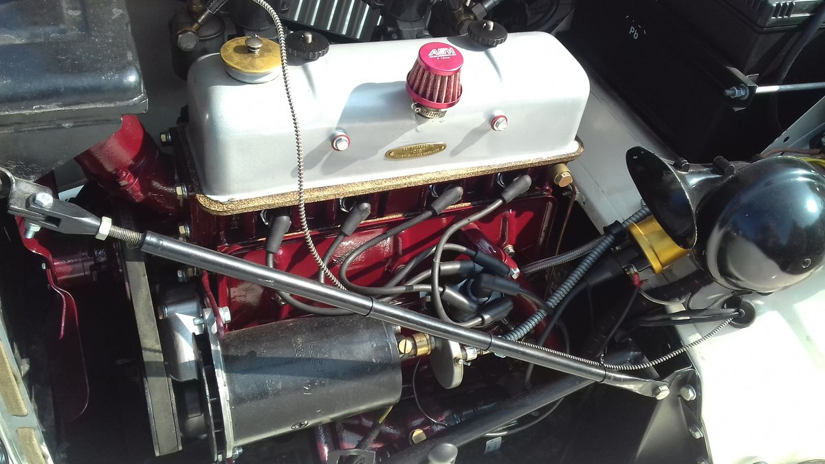 1952 MG TD in old English Wite For Sale (picture 6 of 6)