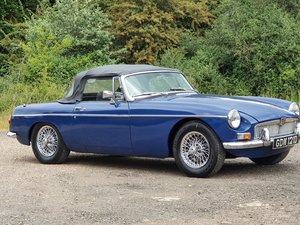 MG B Roadster, 1966, Mineral Blue
