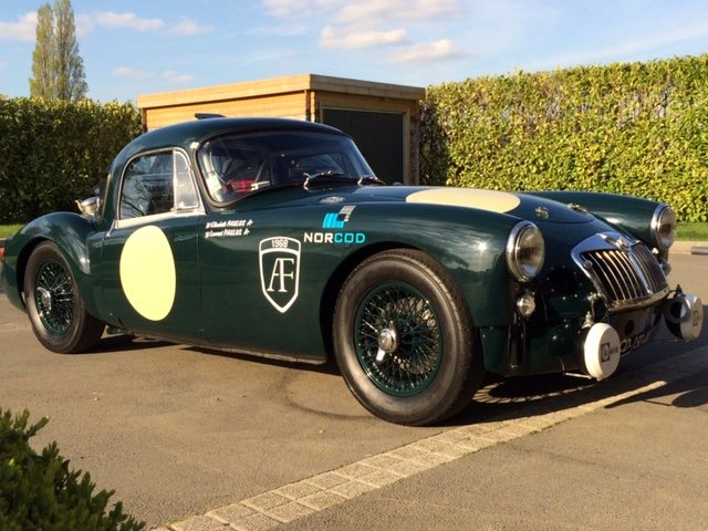 1960 MG A 1600 FIA coupé For Sale (picture 2 of 6)