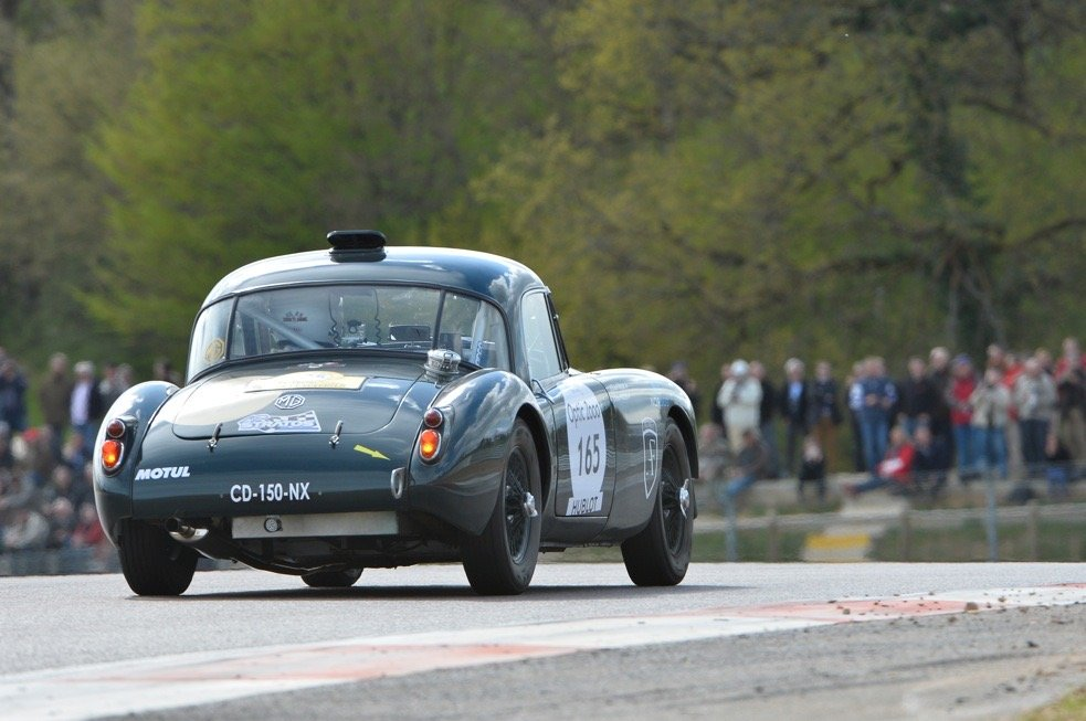 1960 MG A 1600 FIA coupé For Sale (picture 6 of 6)