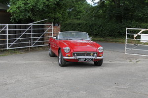 1968 Top class MGC Roadster, known to us for 19 years, UK RHD SOLD