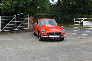 1971 MGB GT, one lady owner over 30 years, excellent history SOLD