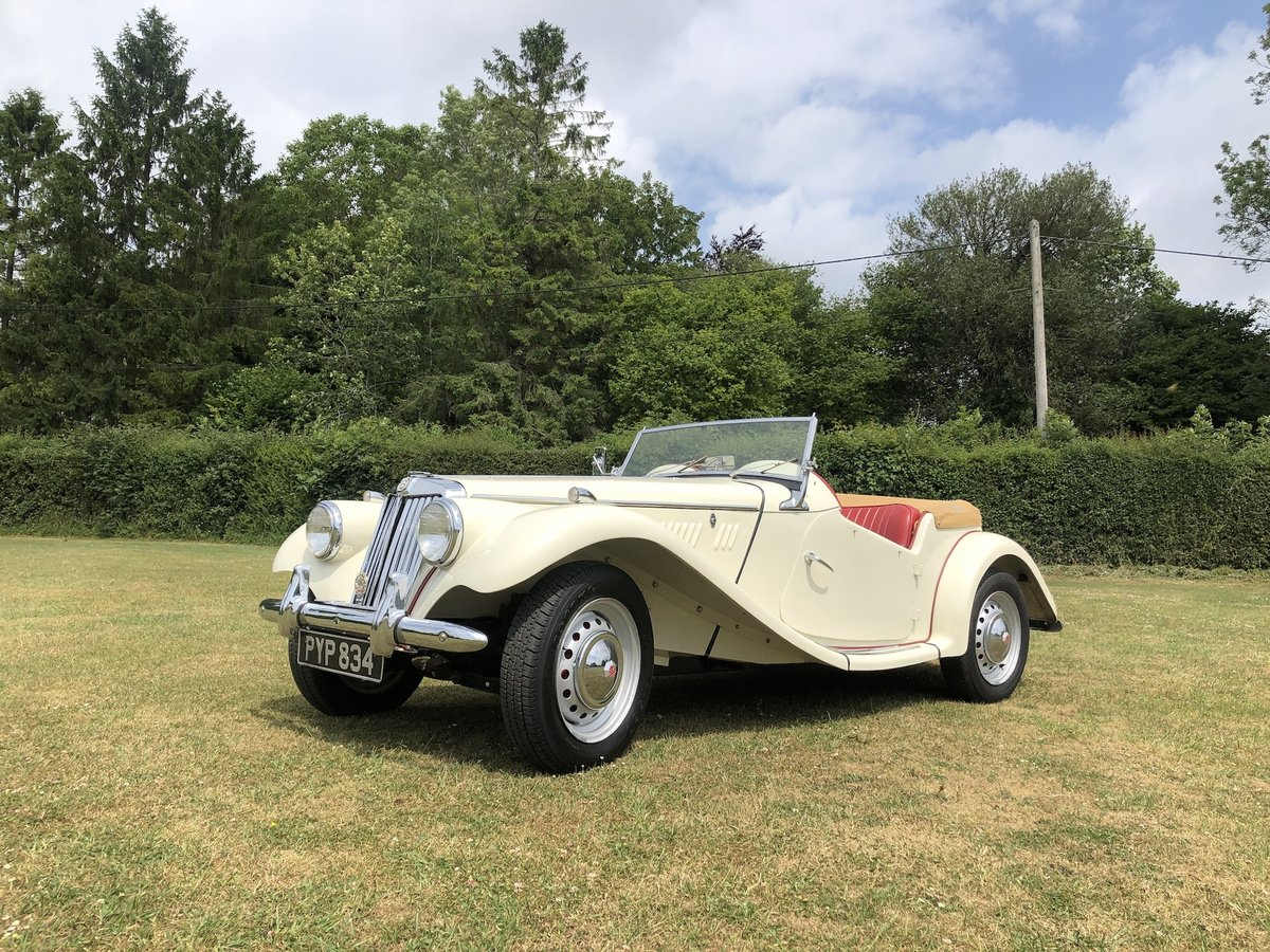 1955 MG TF  For Sale (picture 1 of 24)