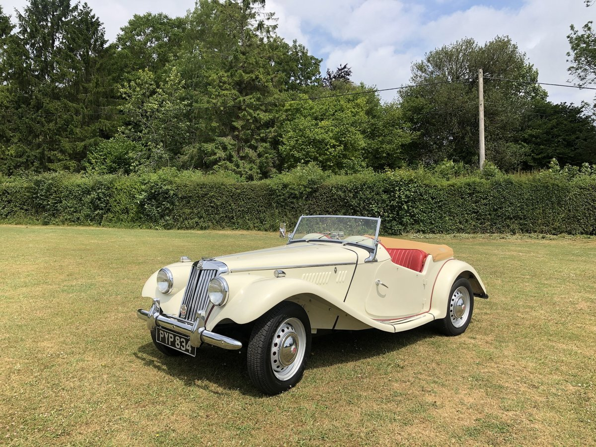 1955 MG TF  For Sale (picture 10 of 24)