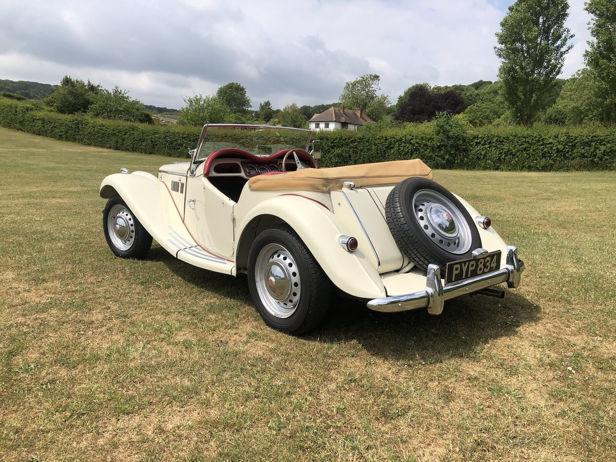 1955 MG TF  For Sale (picture 15 of 24)