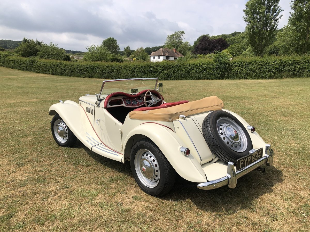 1955 MG TF  For Sale (picture 22 of 24)