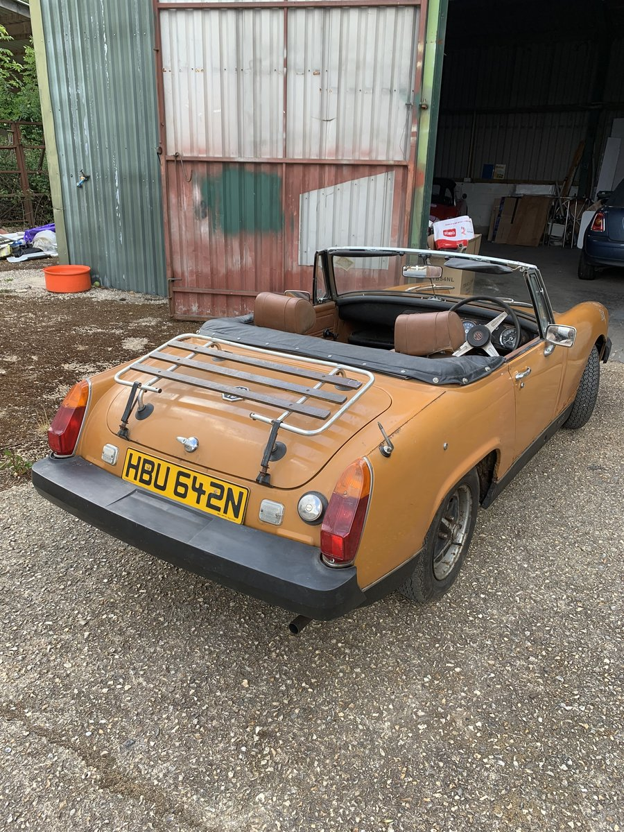 1975 MG Midget starts and runs well For Sale (picture 2 of 6)