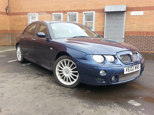2002 MG ZT 190 automatic 2.5 V6 automatic petrol saloon For Sale (picture 1 of 4)