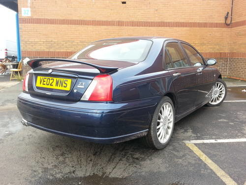 2002 MG ZT 190 automatic 2.5 V6 automatic petrol saloon For Sale (picture 2 of 4)