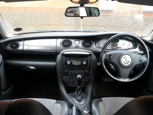 2002 MG ZT 190 automatic 2.5 V6 automatic petrol saloon For Sale (picture 3 of 4)