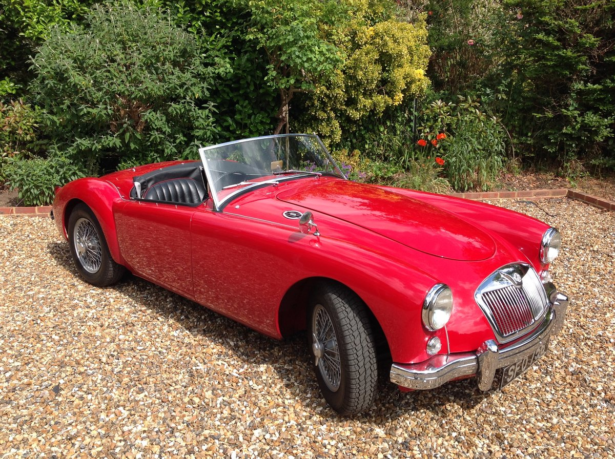 1957 MGA 1500 professionally restored  For Sale (picture 1 of 6)