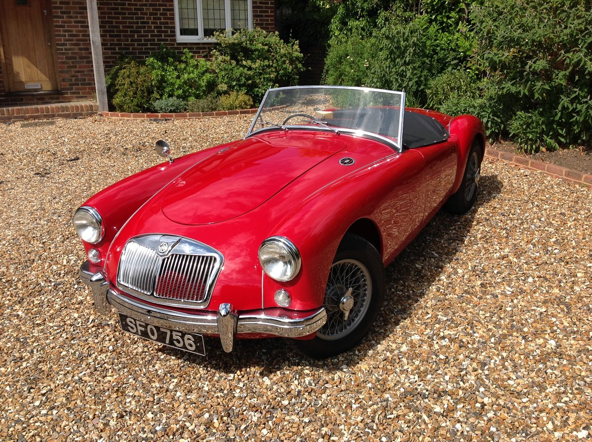 1957 MGA 1500 professionally restored  For Sale (picture 2 of 6)