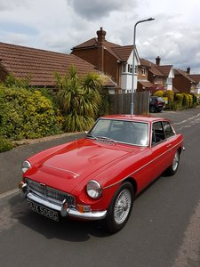1969 MGC GT Automatic 3.0 litre 6cyl