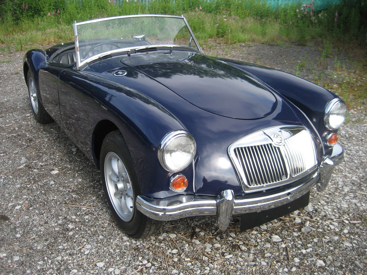 1958 MGA Roadster Nut and bolt restoration For Sale (picture 1 of 6)