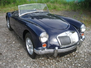 1958 MGA Roadster Nut and bolt restoration