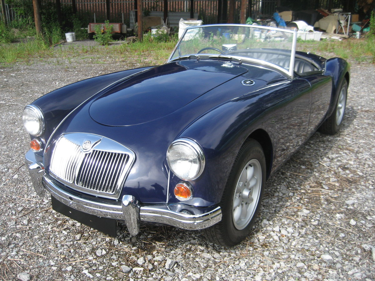 1958 MGA Roadster Nut and bolt restoration For Sale (picture 2 of 6)