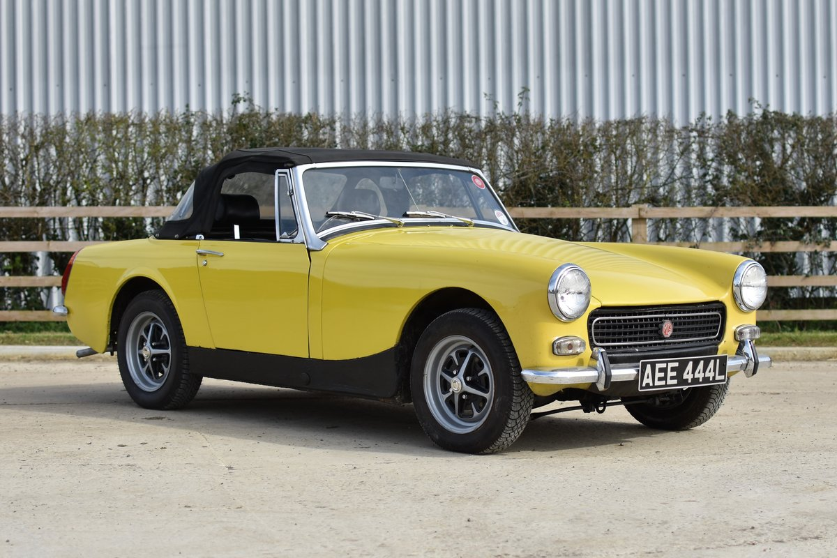 1972 MG Midget RWA For Sale (picture 1 of 6)