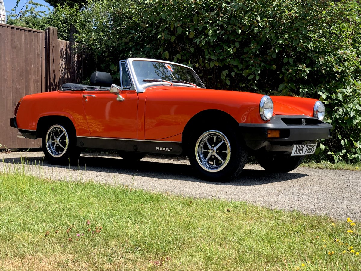1978 MG Midget  For Sale (picture 1 of 6)